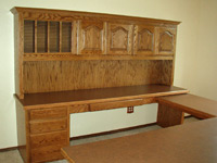 BOOKCASES, DESKS & CHINA CABINETS